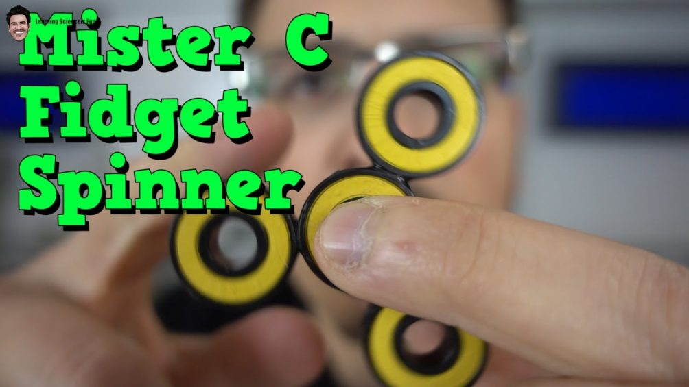 make your own fidget spinner learning science is fun