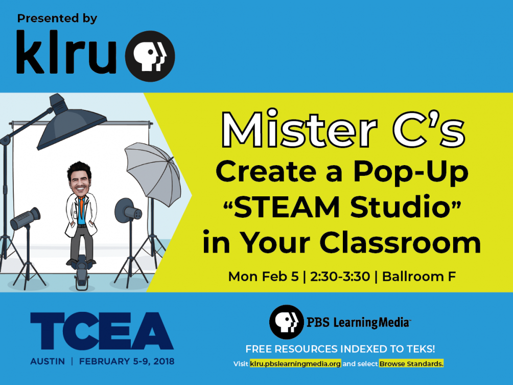 Mister C's Creating a Pop-Up STEAM Studio! | Learning