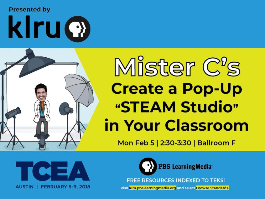 Mister C's Create a pop up STEAM Studio Presentation