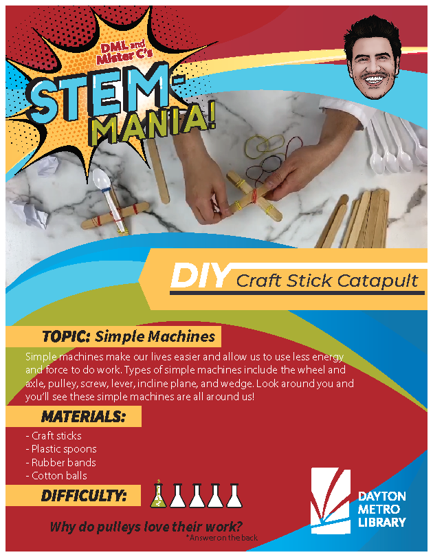 Catapult Activity Sheet