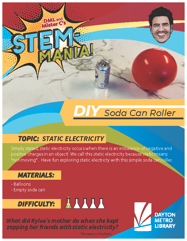 Static Electricity Activity Sheet